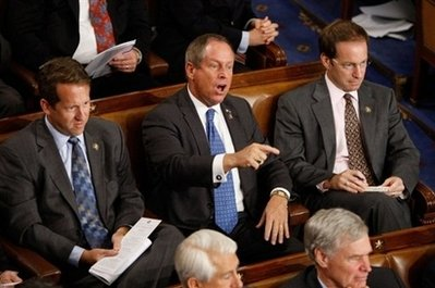 Joe Wilson Shouts You Lie To Barack Obama