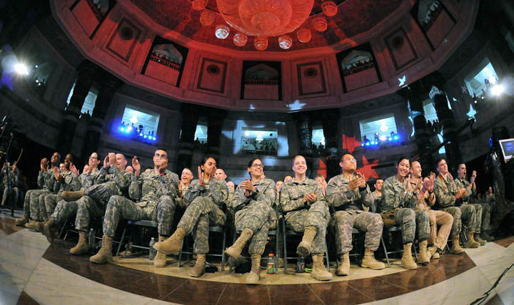 a discussion on the mandatory vaccination in the us army Mandatory vaccinations: precedent and current laws congressional  also  discussed are state laws providing for mandatory  require american troops to  be immunized against a number of diseases the secretary of.