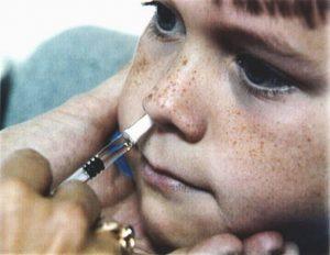 FluMist nasal spray swine flu vaccine