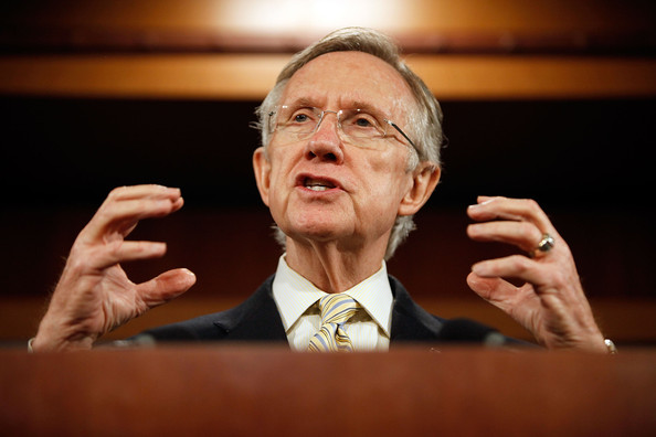Senator Harry Reid Unveils The Senate Version Of The Health Care Reform Bill