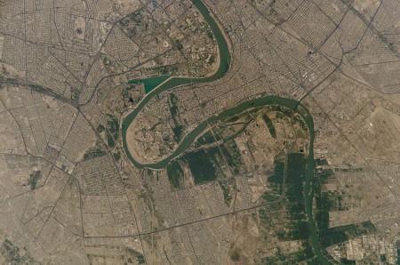 Baghdad in Iraq - Public Domain