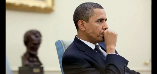 Barack Obama Thinking