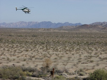 Border Patrol - Photo by Dan Sorensen