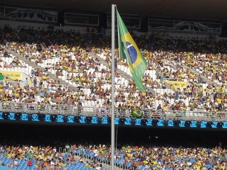 Brazil Flag - Photo by David Cardoso
