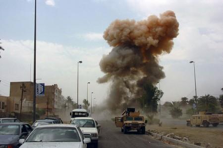Car Bomb In Iraq - Public Domain
