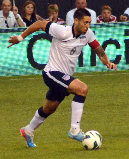 Clint Dempsey - Photo by Erik Drost