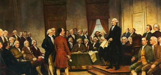 George Washington At The Constitutional Convention 1787 - Public Domain