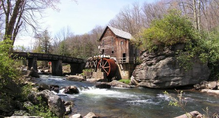 Glade_Creek_Grist_Mill - Photo by Gabor Eszes
