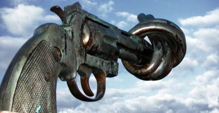 Gun Statue