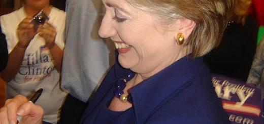 Hillary Clinton Smiling - Photo by Zammerman