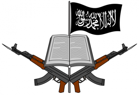 Logo of Boko Haram - Photo by ArnoldPlaton