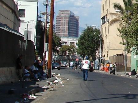Los Angeles Skid Row - Photo by Jorobeq