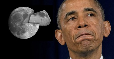 Obama Moon Made Of Cheese