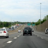 Rush hour traffic on I-66 westbound - Public Domain
