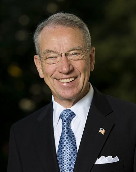 Senator Chuck Grassley - Public Domain