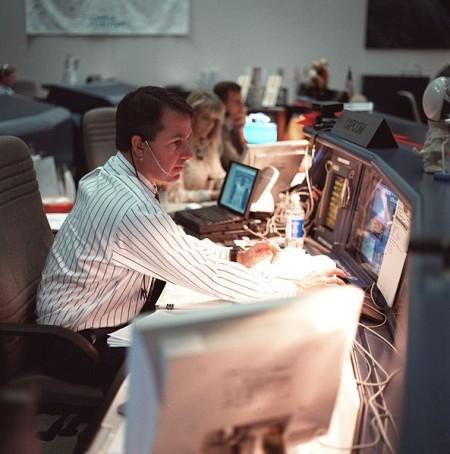 Sitting At Computer - Public Domain