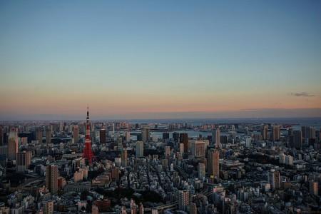 Tokyo Skyline - Photo by Luke Ma