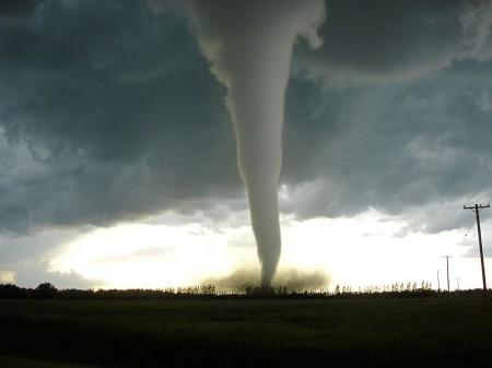 Tornado - Photo by Justin Hobson