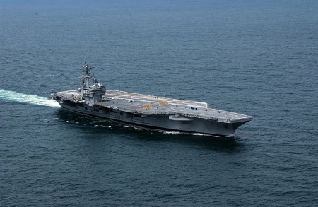USS George H.W. Bush - Public Domain