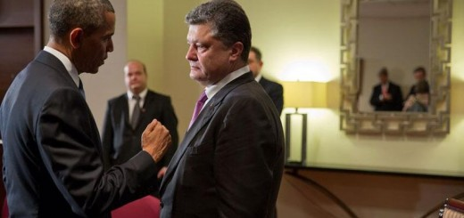 Barack Obama meets with Petro Poroshenko, June 5th 2014 - Public Domain