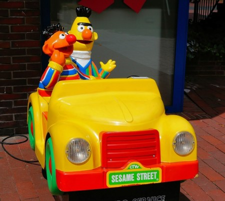 Bert And Ernie - Public Domain