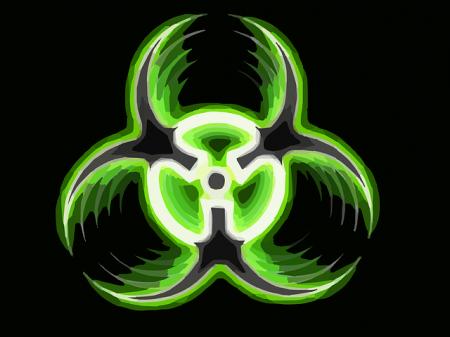 Biohazard Warning - Public Domain