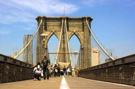 Brooklyn bridge - Public Domain