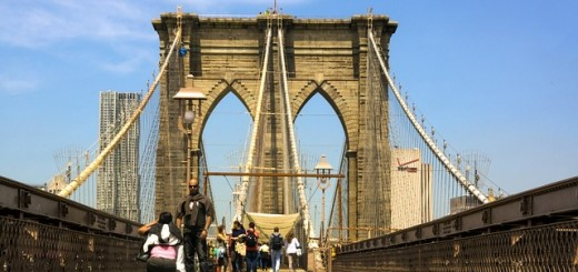 Brooklyn bridge - Public Domain
