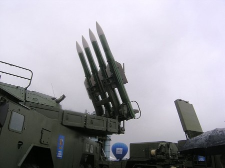 Buk Surface To Air Missiles