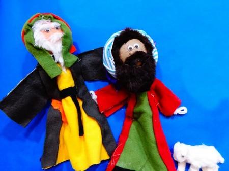 Christian Puppets - Public Domain