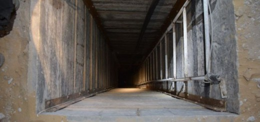 Gaza Tunnel - Photo by IDF