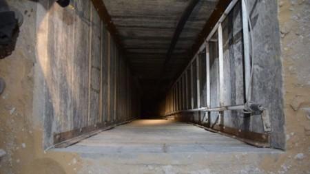 Gaza Tunnel - Photo by IDF