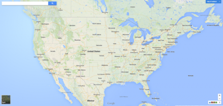 Map These Are The Cities Where The Federal Government Is - Google map of the united states
