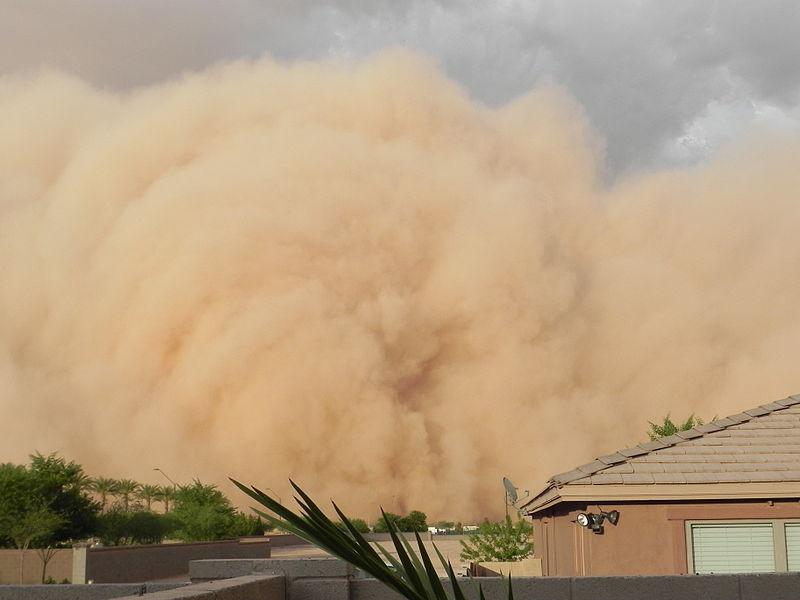 Haboob Giant Dust Storm In Phoenix Arizona Photo By