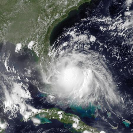 Hurricane Arthur - Public Domain