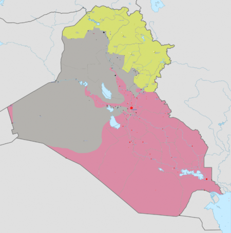 Iraq War Map - Photo by Absalao777