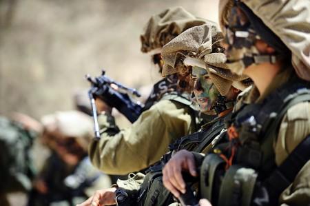 Israeli Troops - taken by the Israel Defense Force
