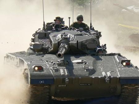 Israeli tank - Public Domain