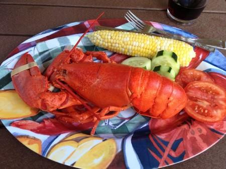 Lobster Dinner - Public Domain
