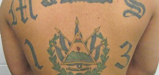 MS-13 Tatoo - Public Domain