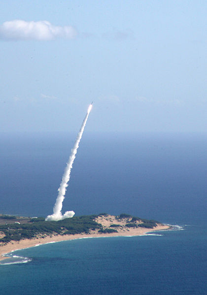 Missile launch - Public Domain