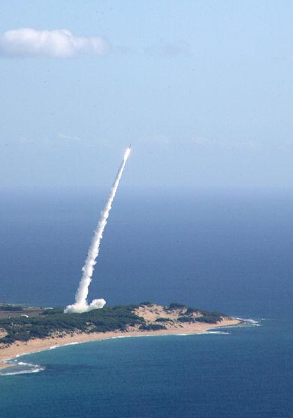Missile launch - Public Domain