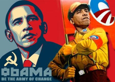 Obama Brown Shirts
