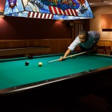 Obama Shooting Pool - Public Domain