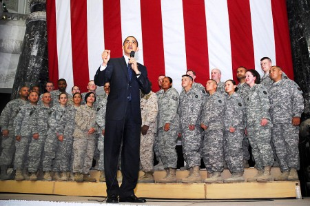 Obama Troops - Public Domain