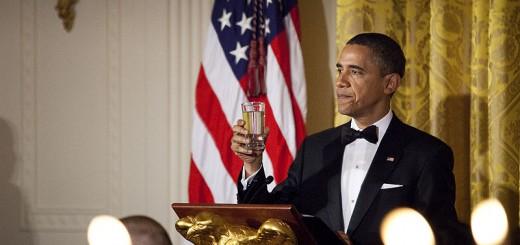 Obama White House Dinner - Public Domain