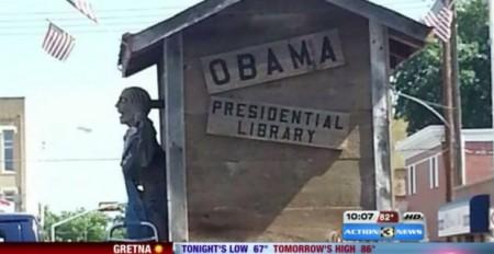 Obama Zombie Float