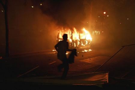 Paris Riot - Photo by Mikael Marguerie