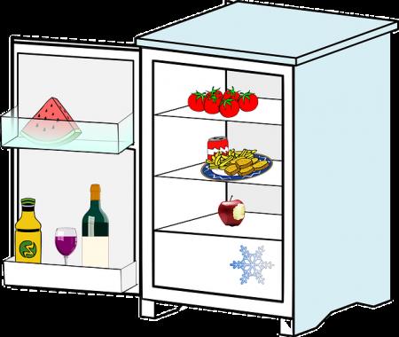 Refrigerator - Public Domain
