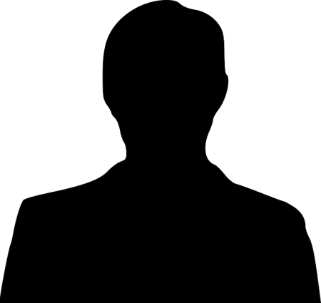 Silhouette Of A Man - Public Domain
